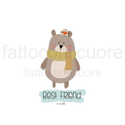 illustrazione best friend