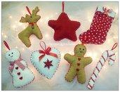 Addobbi albero di Natale decorazioni