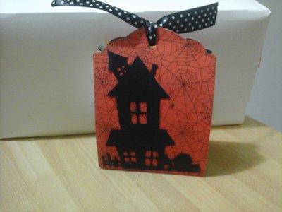 Scatolina portadolcetti fantasia Halloween