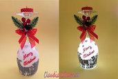 Calici lanterna natalizi. Perfetti come regalo di Natale e personalizzabili su richiesta.