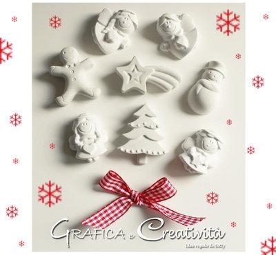 25 Gessetti misti a tema natalizio