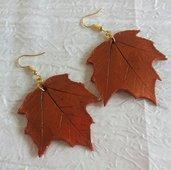 Orecchini foglie autunnali