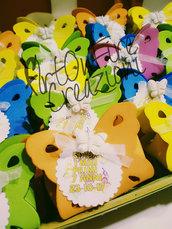 Scatole portaconfetti farfalla nascita o compleanno