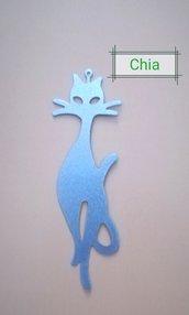 1 maxi charm gatto argentato