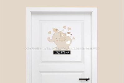 Tino Elefantino Adesivi porta