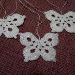 Tris di Farfalle decorative luminose