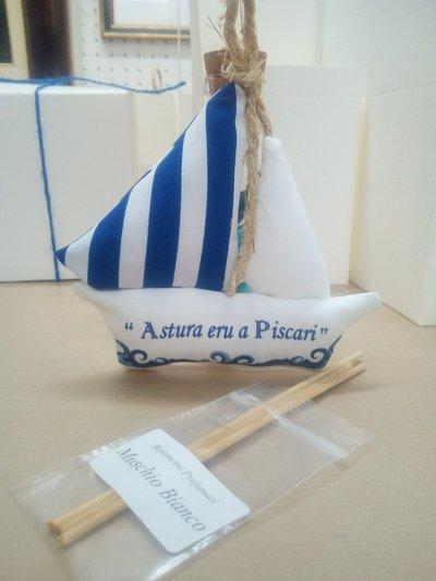Barca a Vela Stoffa Profumatore c. Confetti